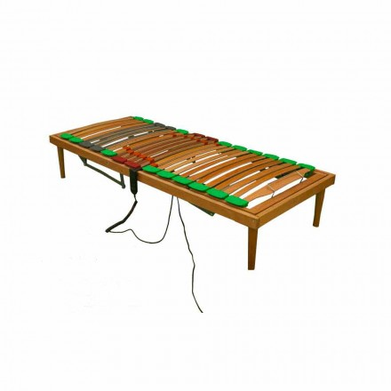 Base de cama dupla totalmente de madeira Bio Energy Plus ATP motorizado