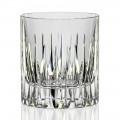 12 Copos Low Whisky ou Tumbler Water em Cristal Ecológico - Voglia