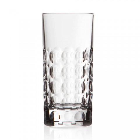 12 Copos Highball para Refrigerantes ou Long Drinks em Eco Crystal - Titanioball