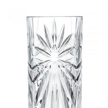 12 Copos altos de coquetel Highball Tumbler em Eco Crystal Design - Daniele