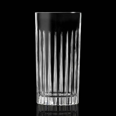 Copos altos 12 Tumbler Tall em Eco Cristal Decorado - Senzatempo
