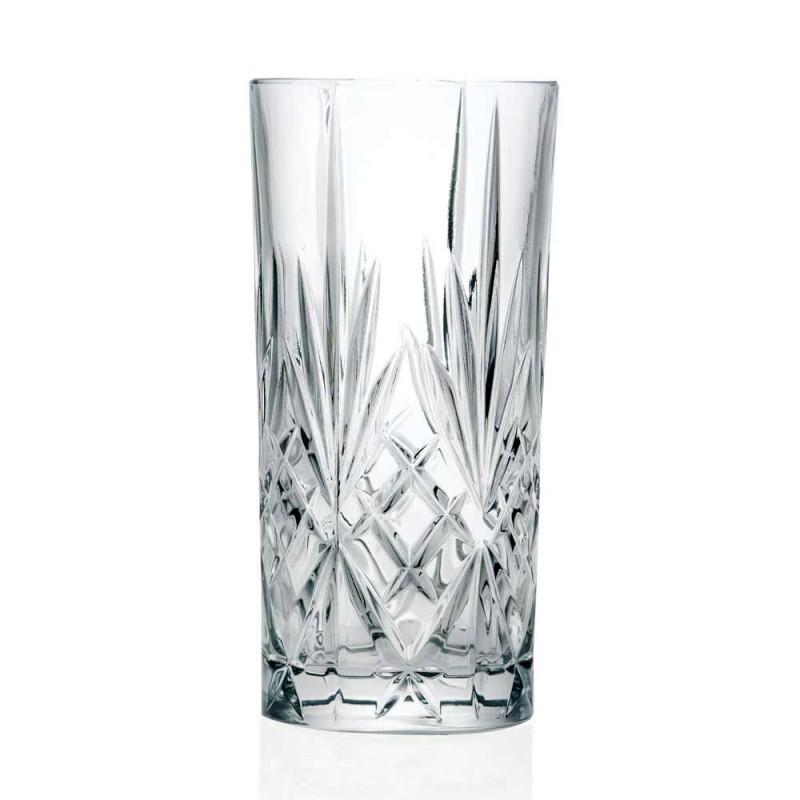 12 Copos Alto Highball para Coquetel em Eco Crystal - Cantabile