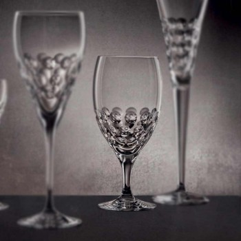 12 Copos de Cerveja em Design de Luxo Decorado com Cristal Ecológico - Titanioball