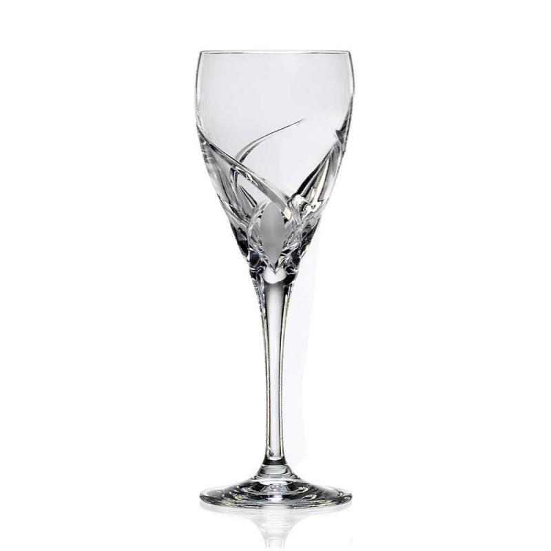 12 taças de vinho tinto em design luxuoso de cristal ecológico - Montecristo