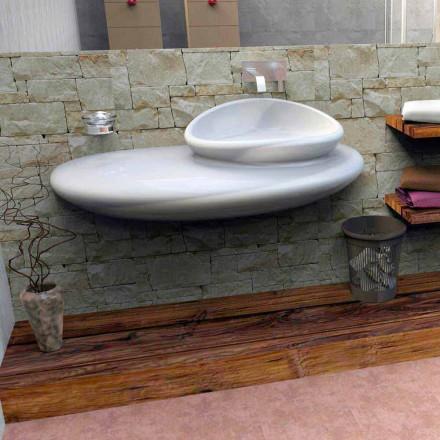 Pia de parede Pedra, design italiano moderno feito na Itália