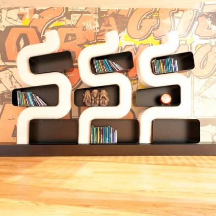 Estante design moderno de Solid Surface Ser P, feito à mão na Itália