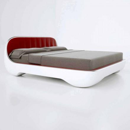 Cama de casal de luxo design moderno Avantgarde, feita na Itália