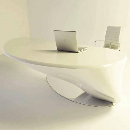 Mesa de escritório de design moderno Atkinson, feita de Solid Surface, design italiano
