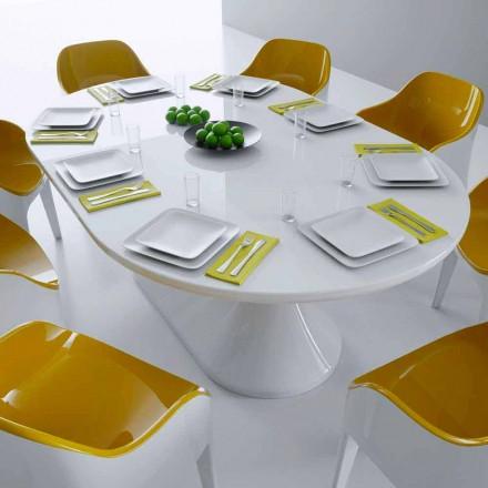Design moderno mesa de jantar mesa de almoço, feita na Itália, design italiano