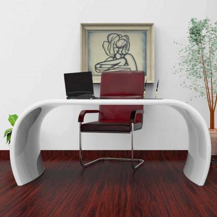 Mesa de escritório de design moderno Ola, feito à mão na Itália, design italiano