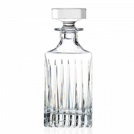 2 Garrafas de Whisky Cristal com Moagem Manual Made in Italy - Voglia