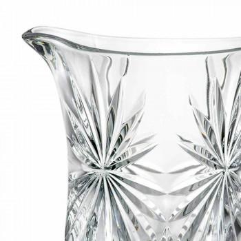 2 jarros de água de design com decoração de vidro de som superior ultraclear - Daniele