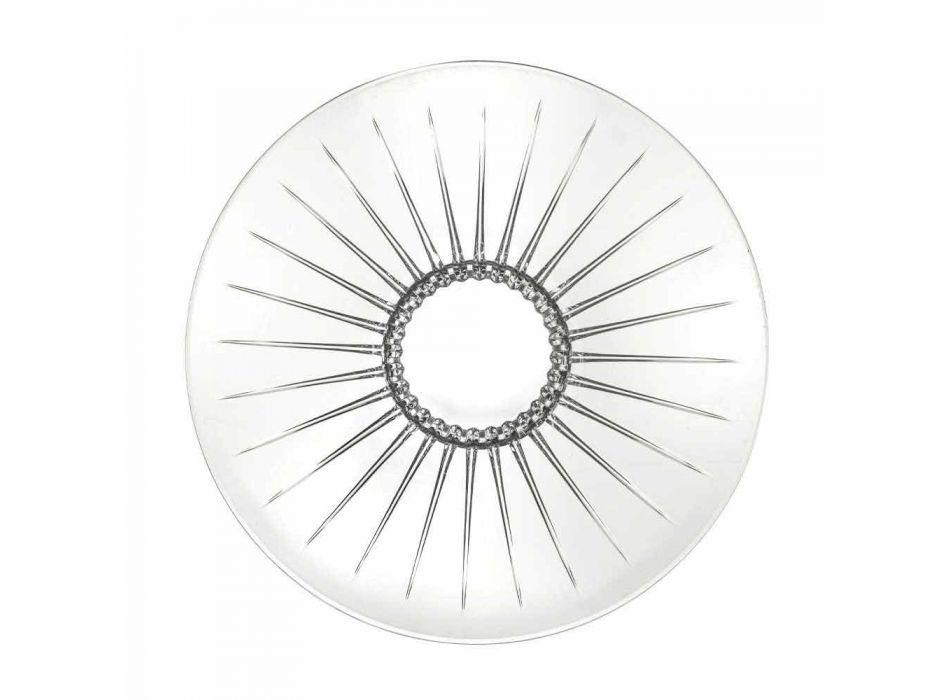 2 Ultraclear Superior Sound Glass Central Luxury and Design - Senzatempo