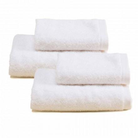 2 casais de toalhas de banho turco de algodão colorido - Vuitton