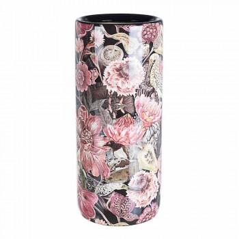 2 Guarda-chuva de Porcelana com Decalque de Flor Homemotion - Jolly