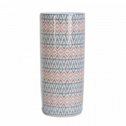 2 Guarda-chuva de Porcelana Decorado com Decalque Homemotion - Nando
