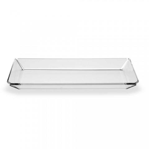 2 Bandeja de Plexiglass de Design Moderno para Entrada em Plexiglass Transparente - Tonio