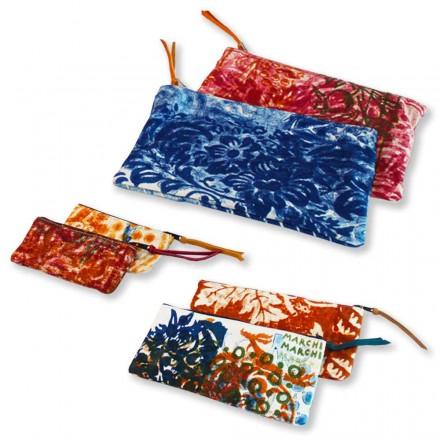 Embreagens de algodão de alta qualidade, feitas à mão - Viadurini by Marchi