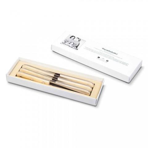 6 Facas de mesa 2012 Berti Inox Exclusivo para Viadurini - Annico