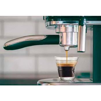 6 xícaras de café amassadas em vidro colorido - Sarabi