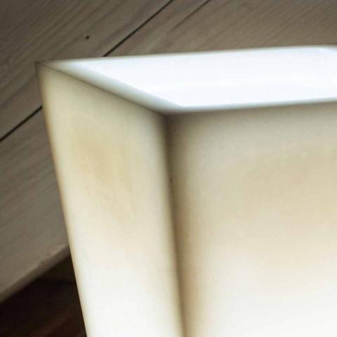 Abat-jour em design de efeito riscado de cera perfumada feito na Itália - Monia