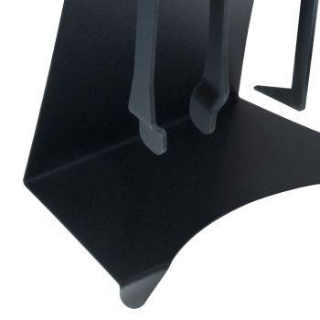 Acessórios para Lareiras em Aço Pintado Made in Italy 3 Peças - Virgil