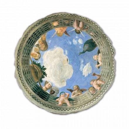 Teto Oculus fresco por Andrea Mantegna