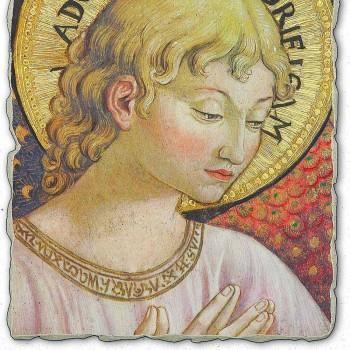 """Afresco Benozzo Gozzoli """"Coros de anjos em adoração"""""""
