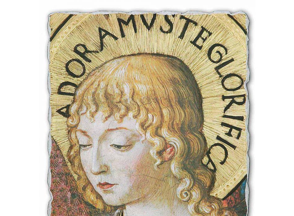 """Afresco Benozzo Gozzoli """"coros de anjos em adoração"""" -1454"""