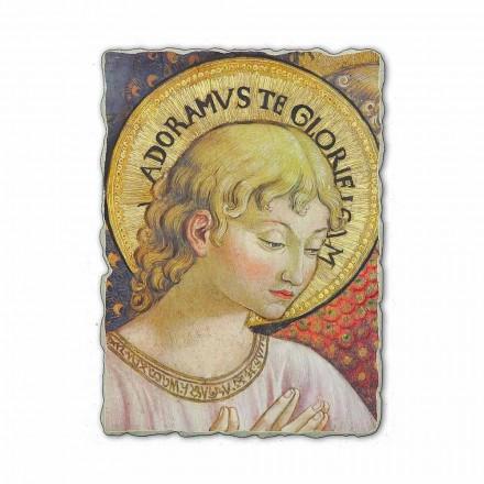 Adorar e cantar Anjos fresco por Benozzo Gozzoli