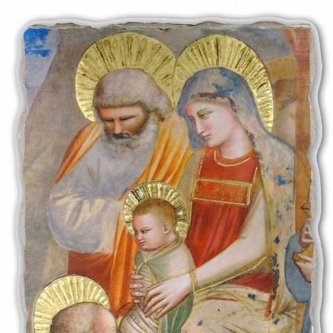 """Giotto fresco """"Adoração dos Magos"""" feito à mão na Itália"""