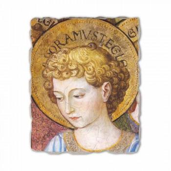 """Gozzoli fresco """"Coros de Anjos em Adoração"""" - 1454 ca"""