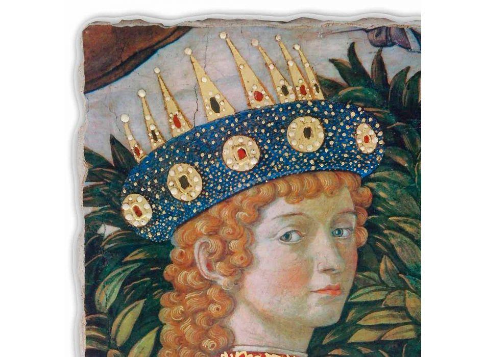 """Gozzoli fresco """"A Procissão dos Magos com o Rei Belsazar"""""""
