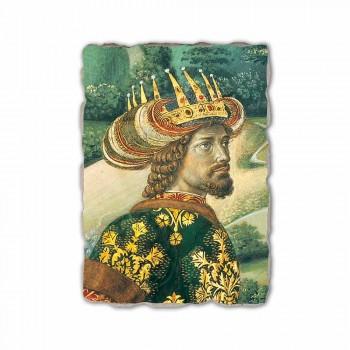 """Gozzoli fresco """"A Procissão dos Magos com o Rei Melchior"""""""