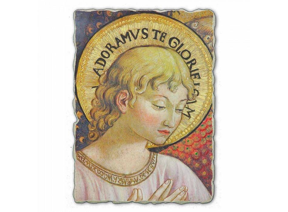 """grande afresco de Benozzo Gozzoli """"Coros de anjos em adoração"""""""