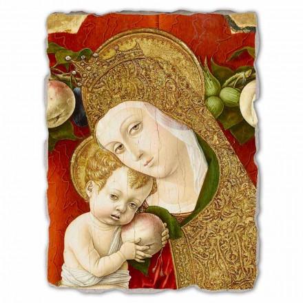Madonna Lochis, afresco de Carlo Crivelli, tamanho grande