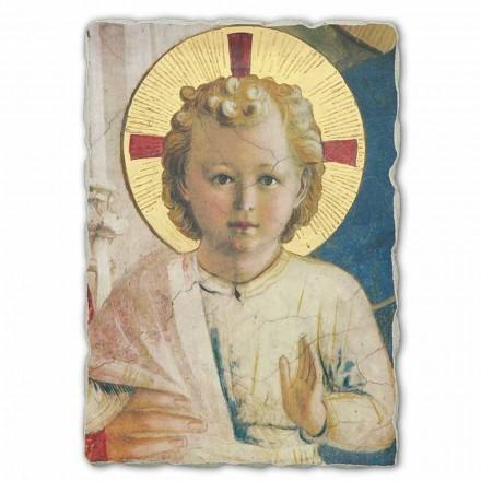 Madonna das sombras por Fra Angelico, tamanho grande