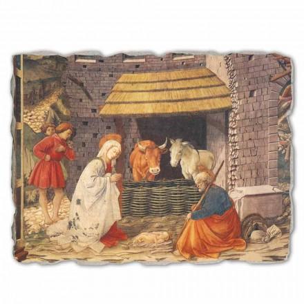 Natividade (detalhe) por Filippo Lippi, big size