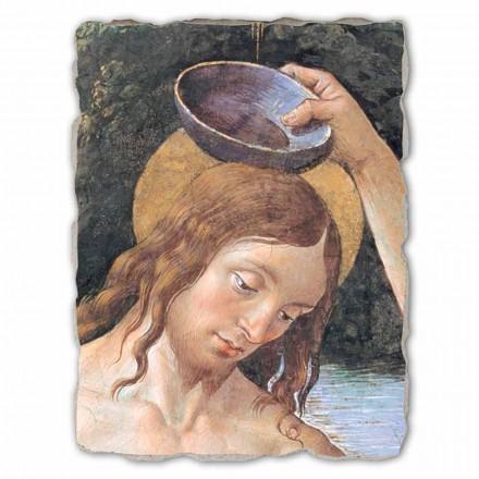 Batismo de Cristo (detalhe) por Perugino, tamanho grande