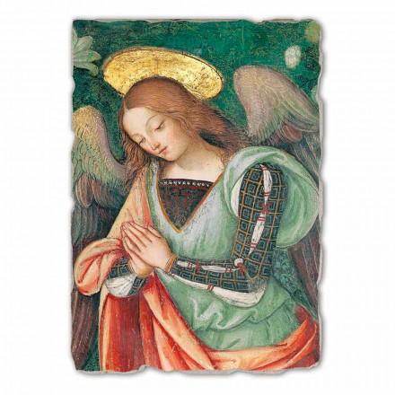 Natividade (detalhe do anjo) afresco pintado à mão, tamanho grande