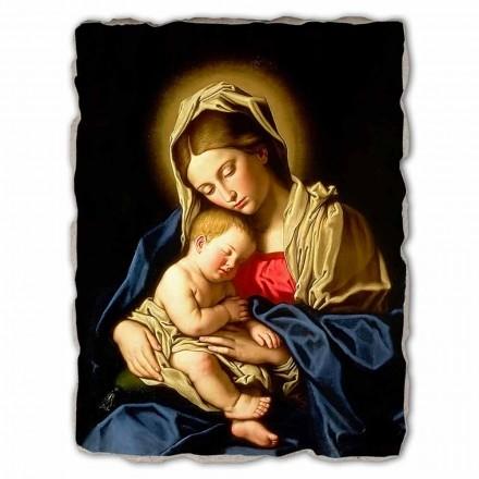 Madonna e criança por Sassoferrato, tamanho grande