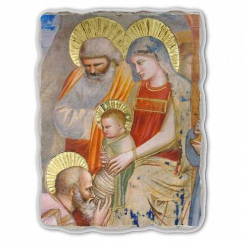 """grande afresco de Giotto """"Adoração dos Magos"""" made in Italy"""