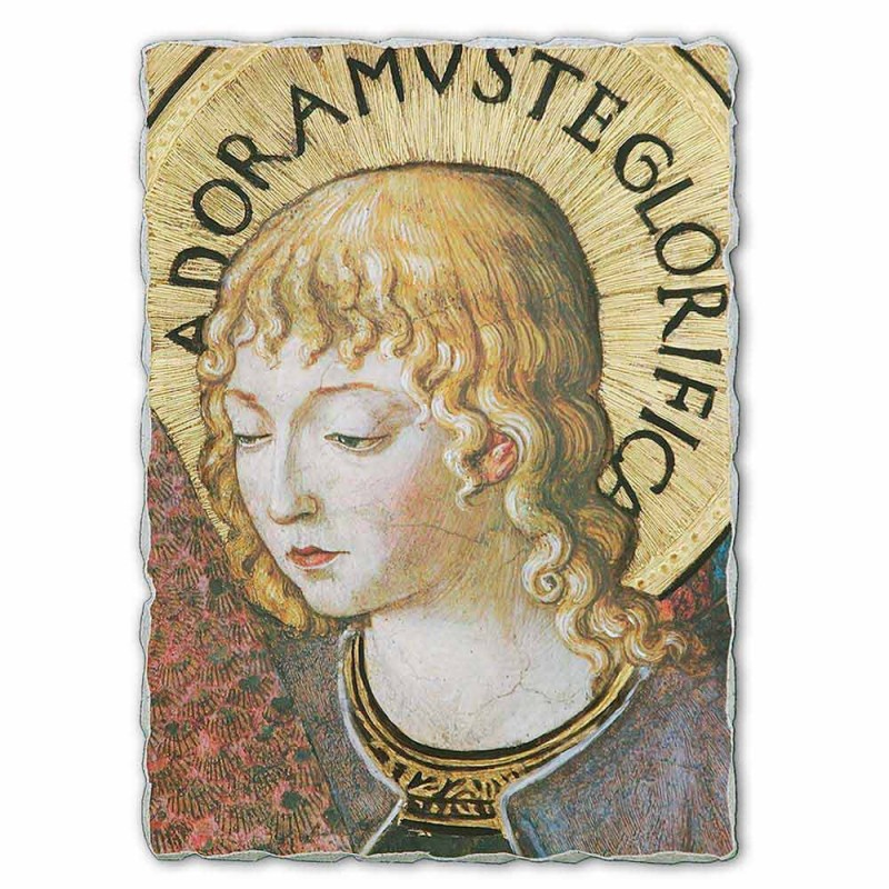 """grande afresco Gozzoli """"coros de anjos em adoração"""" -1454"""