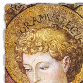 """grande afresco Gozzoli """"Coros de Anjos em Adoração"""" - 1454 ca"""