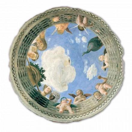 Teto Oculus fresco por Andrea Mantegna, tamanho grande