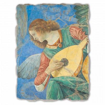 Musico Anjos afresco de Melozzo da Forlì, tamanho grande