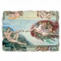 A criação de Adam por Michelangelo, tamanho grande