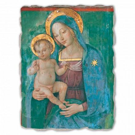 Madonna com afresco de criança por Pinturicchio, tamanho grande