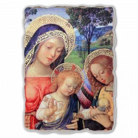Nossa Senhora da Paz (detalhe), pintura de Pinturicchio, tamanho grande
