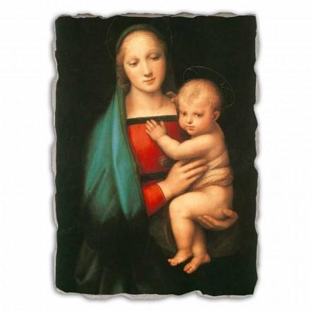 Madonna del Granduca por Rapahel, afresco pintado à mão